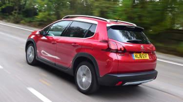 Peugeot 2008 - rear 3/4 view
