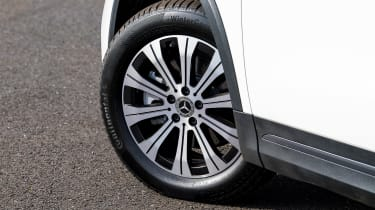 Mercedes EQA SUV review alloy wheels
