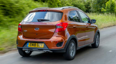 Ford Ka+ hatchback rear 3/4 tracking