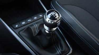 Hyundai i20 N hatchback gear lever