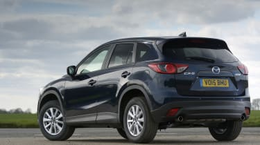It manages to transfer some of the Mazda MX-5's sharpness and agility to an SUV