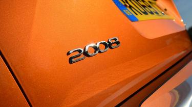 Peugeot 2008 SUV rear badge