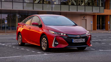 Toyota Prius Plug-in Hybrid hatchback front 3/4 static