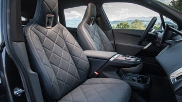 BMW iX SUV front seats
