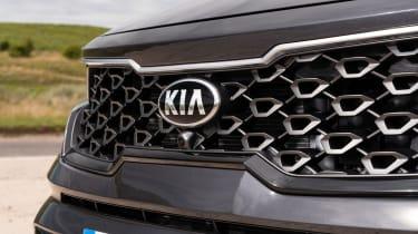 2020 Kia Sorento SUV - front grille close up
