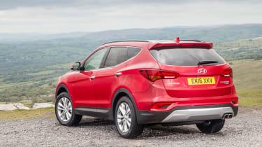 Despite its size, decent visibility and an optional 360-degree camera make parking straightforward