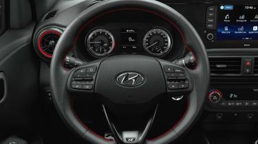 2020 Hyundai i10 N Line - Driver's seat view