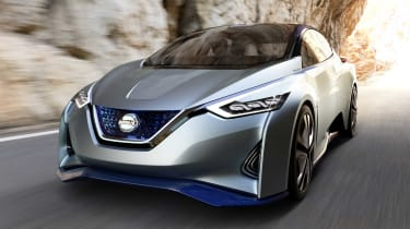 The Nissan Leaf is due a replacement, with a range in excess of 300 miles touted along with more conventional looks