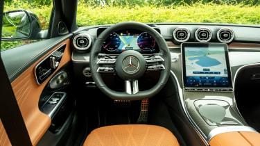 Mercedes C-Class saloon interior