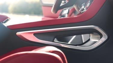Jaguar F-Pace SUV door handle