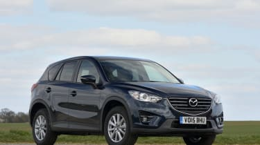 The Mazda CX-5 is an economical and fun-to-drive SUV