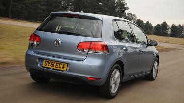 Volkswagen Golf - rear 3/4 view