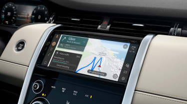 2020 Land Rover Discovery Sport screen - navigation