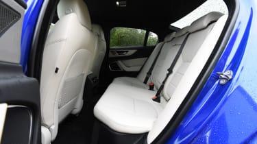 Jaguar XE saloon back seats