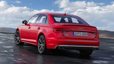 Audi S4 Saloon TDI - rear static