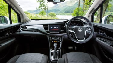 Perhaps the biggest improvement has been the interior, which takes the iLink infotainment system from the Astra