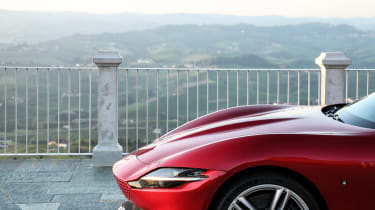 Ferrari Roma coupe nose