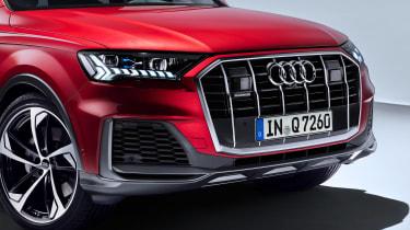 Audi Q7 SUV facelift grille