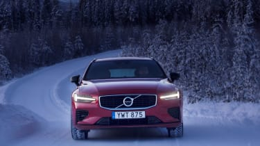 Volvo V60 T8 Twin Engine hybrid nose