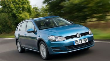 Diesel is still the engine of choice for most estate buyers though and VW's 1.6-litre is excellent
