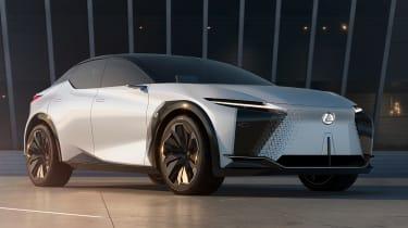 Lexus LF-Z concept - front 3/4 static low