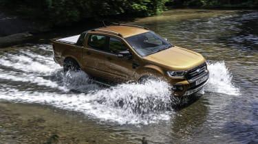 2019 Ford Ranger Wildtrak - dynamic drive through a ford