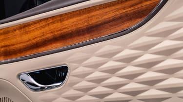 Bentley Flying Spur Odyssean Edition - door panel detailing
