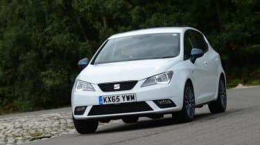 The 1.4-litre TSI petrol engine is the best performer in the standard Ibiza range