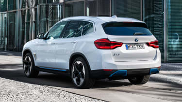 BMW iX3 rear view