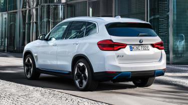 BMW iX3 rear view