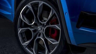 2018 Skoda Kodiaq vRS wheel