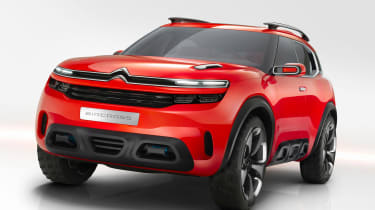 This larger Citroen SUV will be building on the success of the funky Citroen C4 Cactus