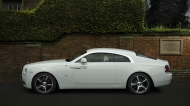 Measuring 5.2 metres in length and two metres wide, parking the Wraith can take some skill