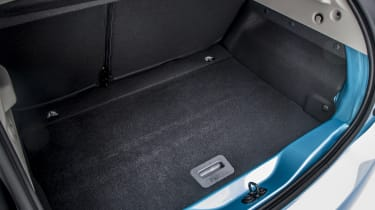 New Renault ZOE - boot floor storage