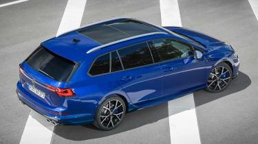 2021 Volkswagen Golf R Estate - rear view