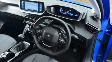 Peugeot 208 hatchback interior