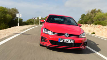 As practical and easy to live with as it is fun to drive, the Golf GTI is also available with a Performance Pack