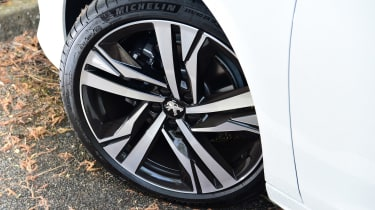Peugeot 508 SW estate alloy wheels