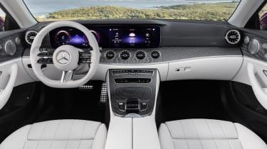 Mercedes E-Class Convertible interior