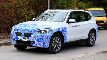 The BMW iX3 is the first all-electric SUV from the German brand
