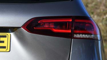 Mercedes B-Class MPV rear light