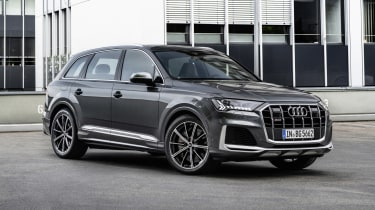 Audi SQ7 front view