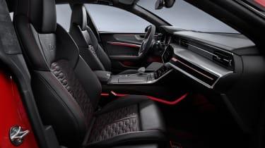 Audi RS7 seats