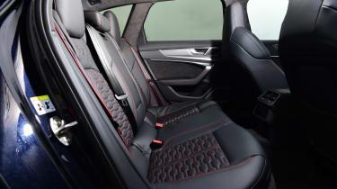 Audi RS6 Avant estate back seats
