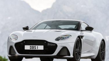 Aston Martin DBS Superleggera static