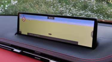 Genesis GV70 SUV infotainment display