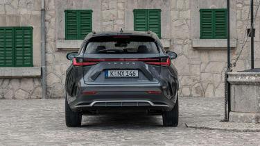 Lexus NX SUV rear static