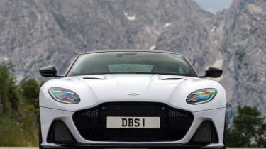 Aston Martin DBS Superleggera nose