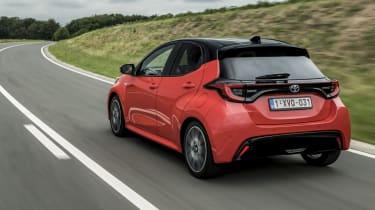 2020 Toyota Yaris - rear 3/4 dynamic