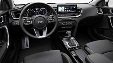 Kia Ceed Sportswagon PHEV interior